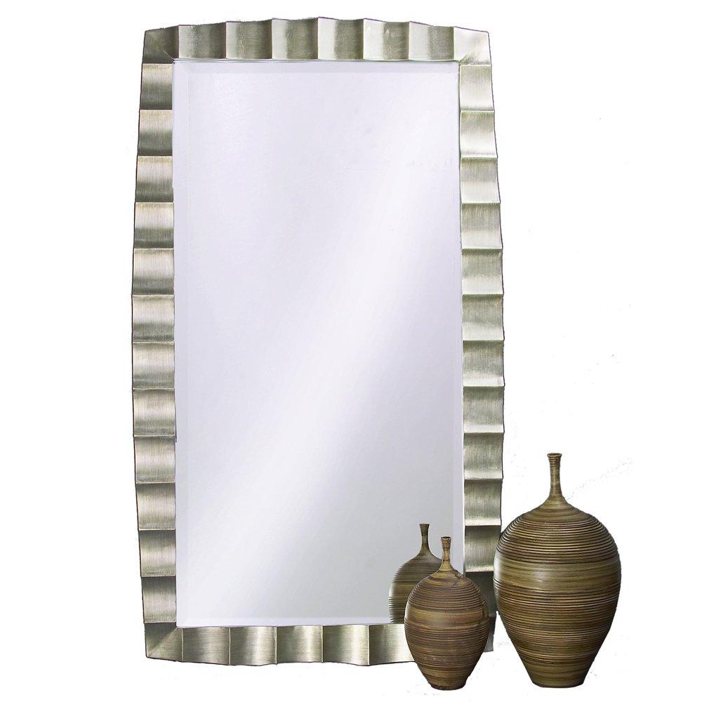 Amazon.com: Howard Elliott 5150 Bangkok Silver Leaf Leaner Mirror ...