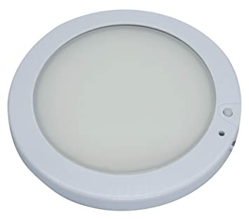 facon 5inch 12v led rv panel ceiling dome light fixture with switch