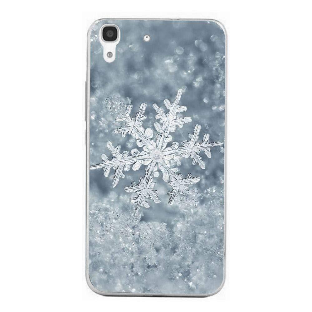 Amazon.com: Silicone Case for Ice Snowflake Huawei Y6 Ii ...