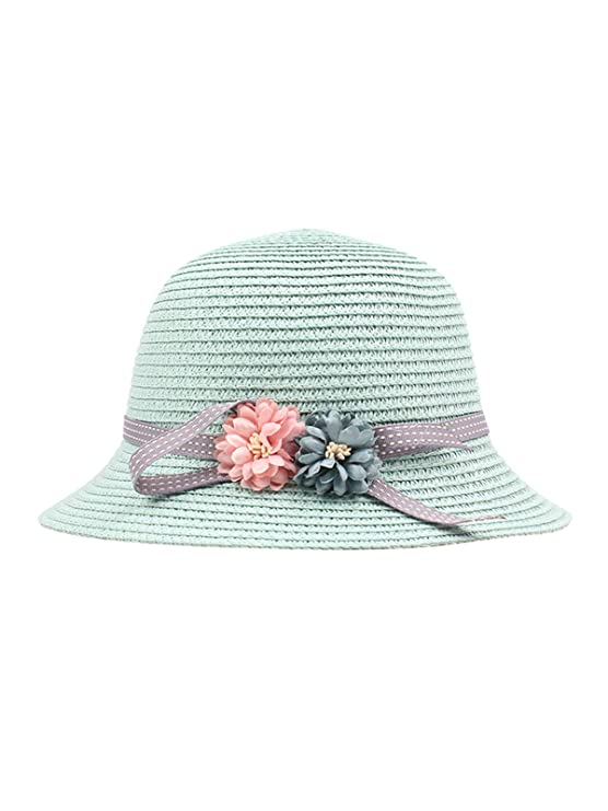 Festnight Sombreros de Paja Niños niñas Sombreros de Sol ...