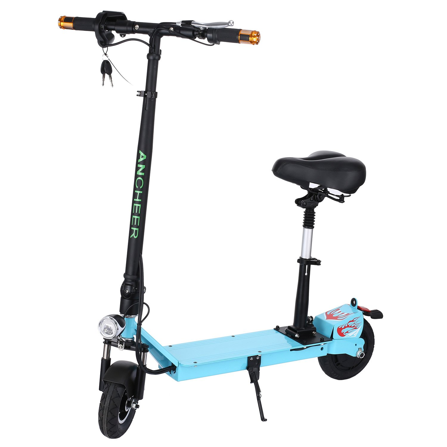 Ancheer Electric Scooter with Retractable Seat