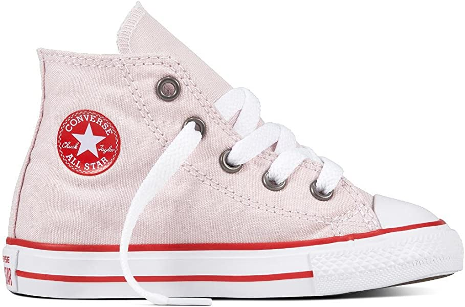 2b4c89b9d616dd Converse Unisex-Kinder CTAS HI Barely Rose Enamel RED White Fitnessschuhe  Pink 653