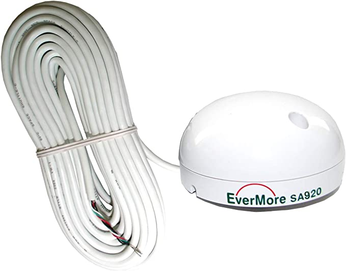 Evermore Marino - Receptor GPS de 48 canales SA-920 RS-232 Interfaz SiRF star 4 Sirf