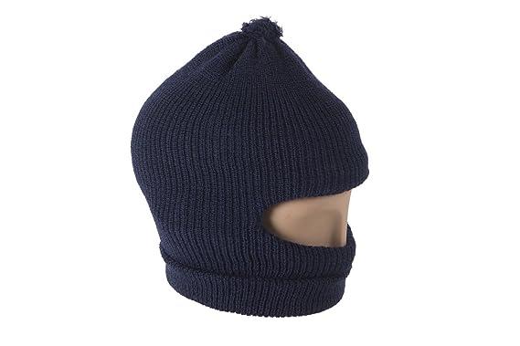 f805cb7c11f Kosha s Wool Winter Navy Monkey Cap for Kid s  Amazon.in  Clothing ...
