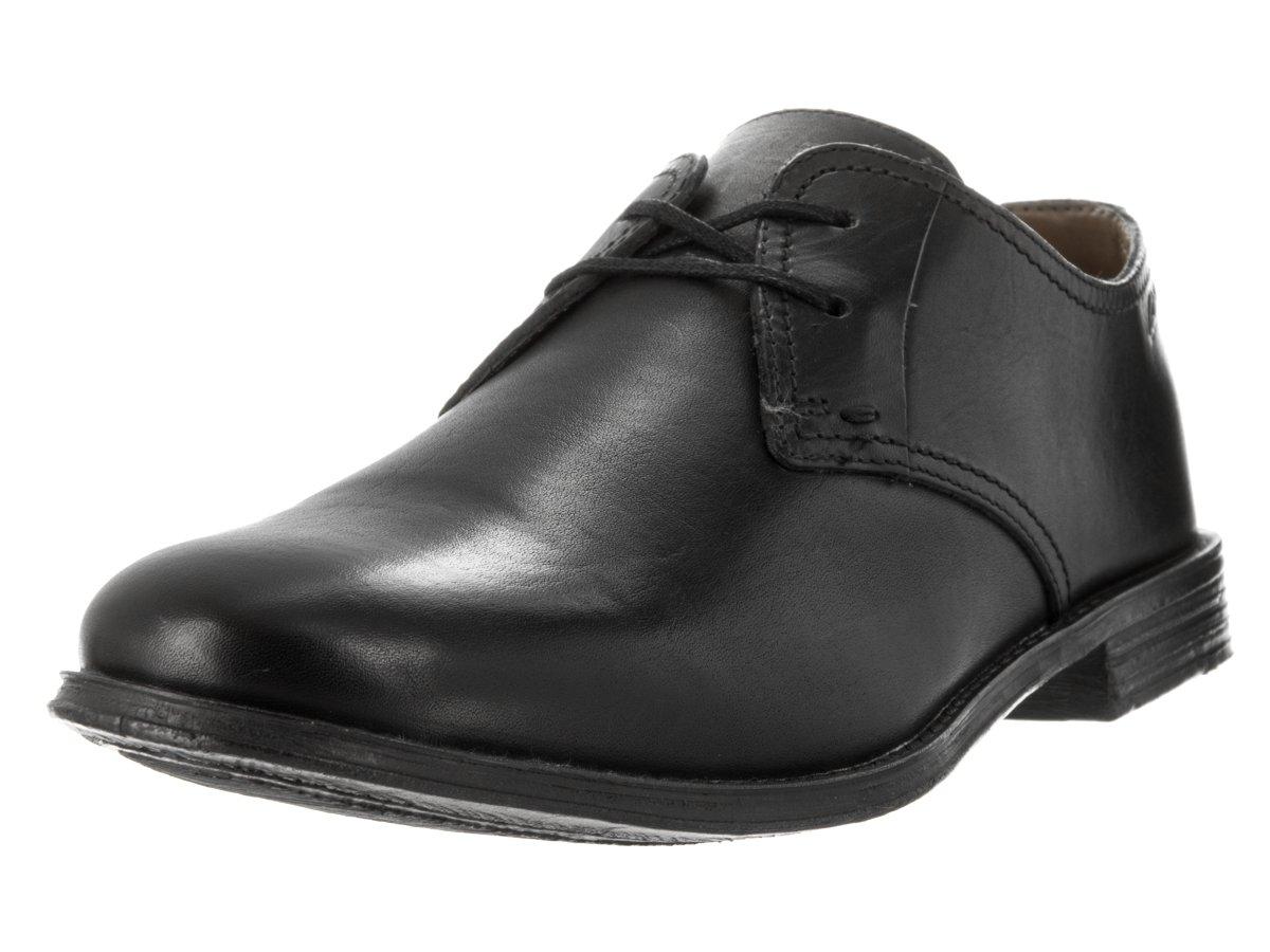 CLARKS Men's Hawkley Walk Oxford 10 D(M) US|Black Leather