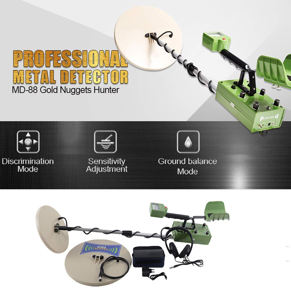 Amazon.com : Pro Detector MD-88 Professional Metal Detectors Treasure Hunter Gold Finder : Garden & Outdoor