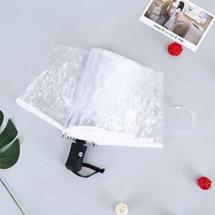 c8a5341c9361 Amazon.com: Child Umbrella - Transparent Automatic Manual Umbrella ...