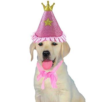 Amazon.com: Aiwind Gorro de cumpleaños con purpurina para ...