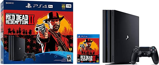 Sony PS4 PRO + Red Dead Redemption 2 Negro 1000 GB - Videoconsolas ...