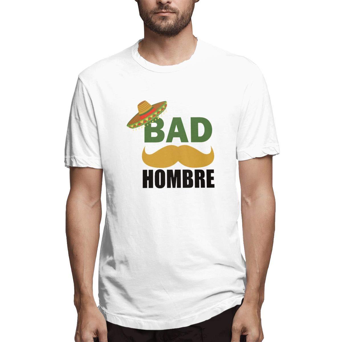 Xuforget Mens Bad Hombre Funny Political Trump Mexico School ...