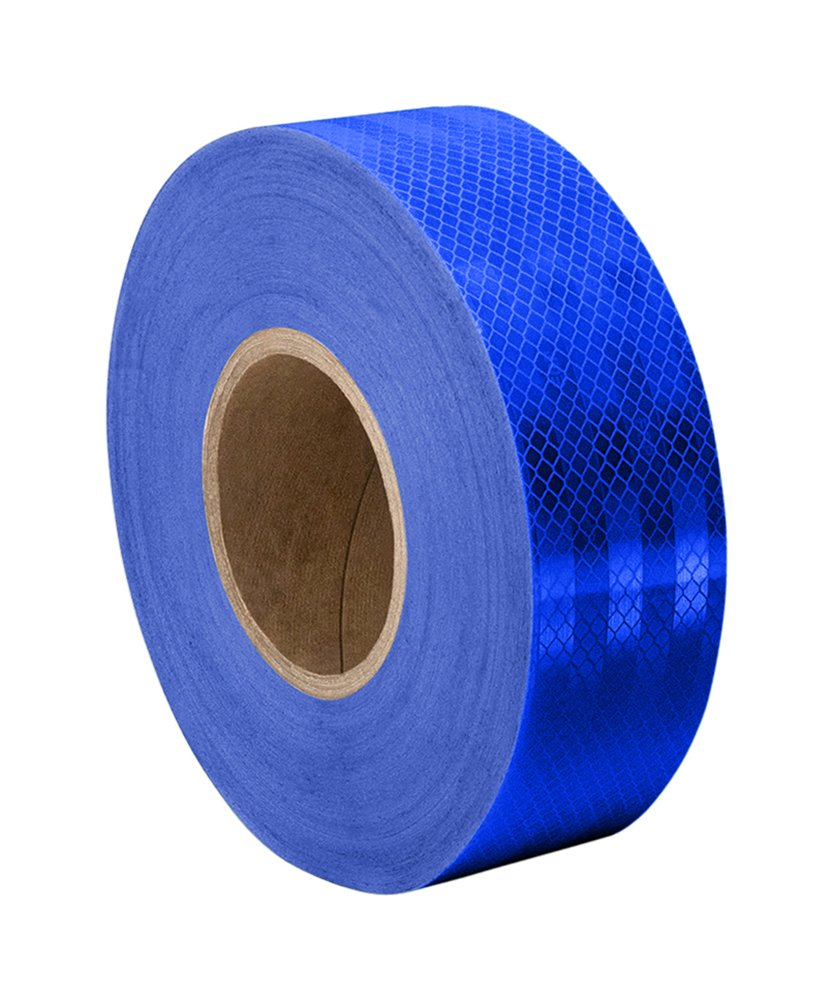 3M 3435 Blue Reflective Tape Roll – 1.375 in. x