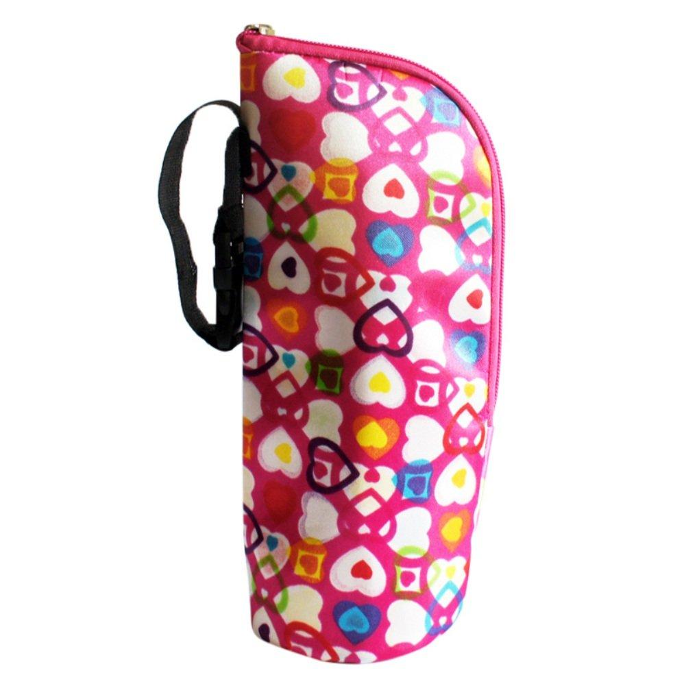 Babyflasche Tasche, Baywell Baby Thermobox Warmhaltebox Isoliertasche fü r Milchflaschen (Braun) TOP-DBY204-4