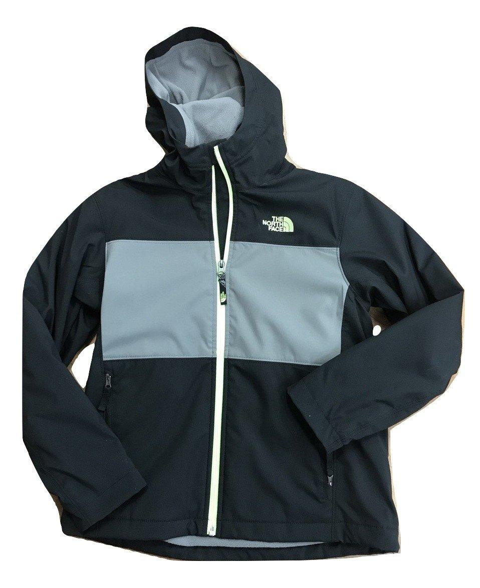 northface Boys Hooded Shell Jacket Size M(10/12) Chc8jk3