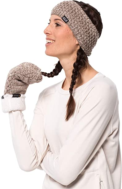 Jack Wolfskin Damen Stirnband Highloft Knit Headband Women