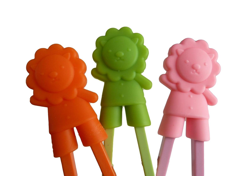 Unique Boutique 4er Set Essst/äbchen rot M/ädchen Junge f/ür Anf/änger Kinder Senioren Chopsticks zum Wiederverwenden