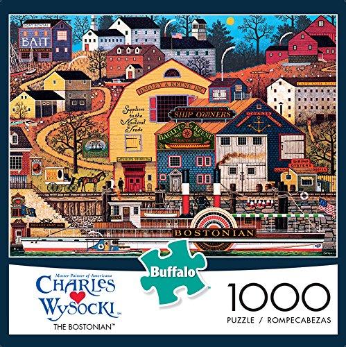 Buffalo Games Charles Wysocki The Bostonian 1000