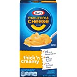Kraft Macaroni and Cheese Dinner, Thick & Creamy, 7.25 Ounce Box (Pack of 24 Boxes)