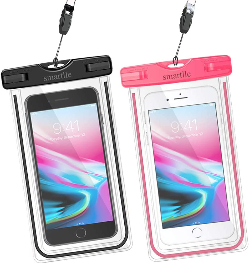 Universal Waterproof Phone Bags Case Underwater Dry Pouch For iPhone 7//8 Samsung