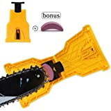 SDMS Chainsaw Sharpener, Portable Chain Saw Blade Teeth Sharpener Work Sharp Fast-Sharpening Stone Grinder Tools Suitable for