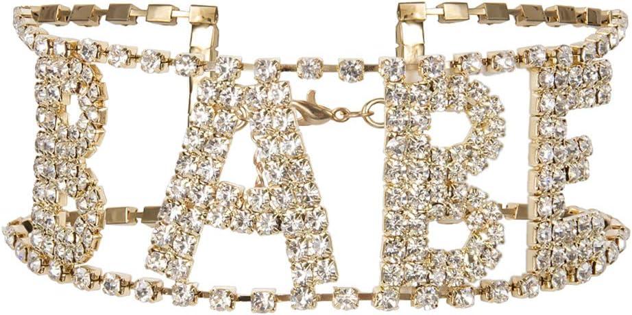 A0366 5 pieces rhinestone club Alloy Charm Pendants