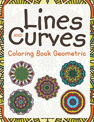 Lines Curves Coloring Geometric Shapes ebook