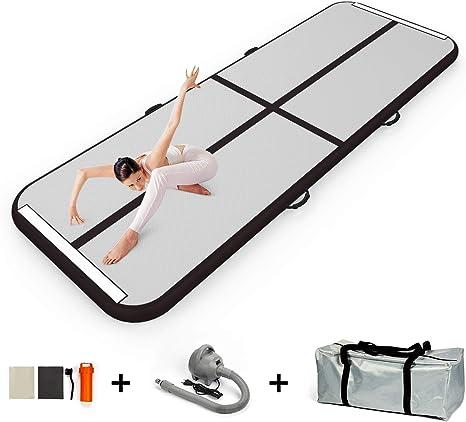 Amazon.com: GLOT - Colchoneta hinchable para gimnasia con ...