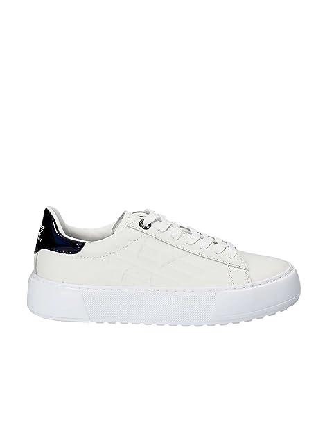 9d0a10093ad9b Emporio Armani Ea7 248005 8P299 Sneakers Uomo Bianco 36-2  Amazon.it   Scarpe e borse