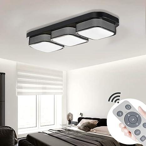 MYHOO 36W LED Regulable Moderno Lámpara De Techo Lámpara De ...