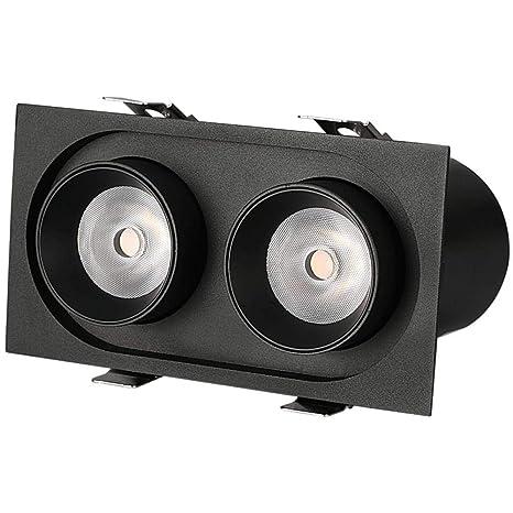 Proyector Led Doble Cabeza Luz de Techo Integrada Blazer Lámpara ...