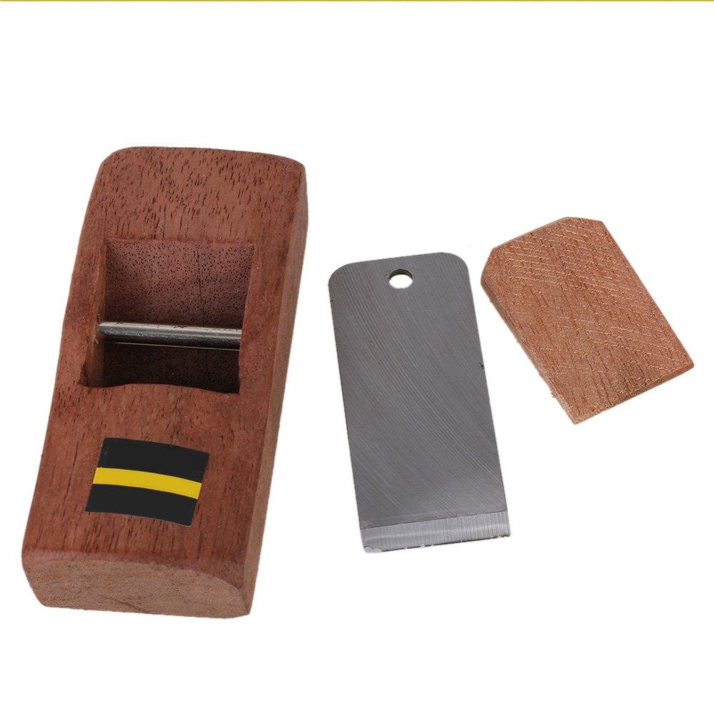 BQLZR 10cm Brown Mini Carpenter Wood Planer Hand Shaver Carpenter's Planer DIY Wood Working Tool N05004