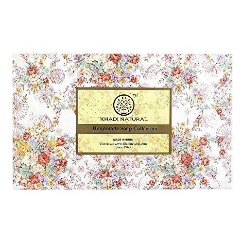 Khadi Natural Herbal Ayurvedic Handmade Soap Selection 12 Pack Perfect for Gifts (300 g)