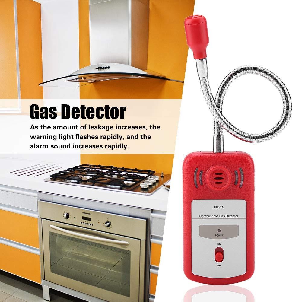 ... de gas Combustible Detector de fugas de gas natural PT8800A Sniffer portátil con certificados RoHS FCC Ce para seguridad en el hogar y plantas químicas: ...