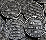 Set of 10 Friendship Pocket Token Coins