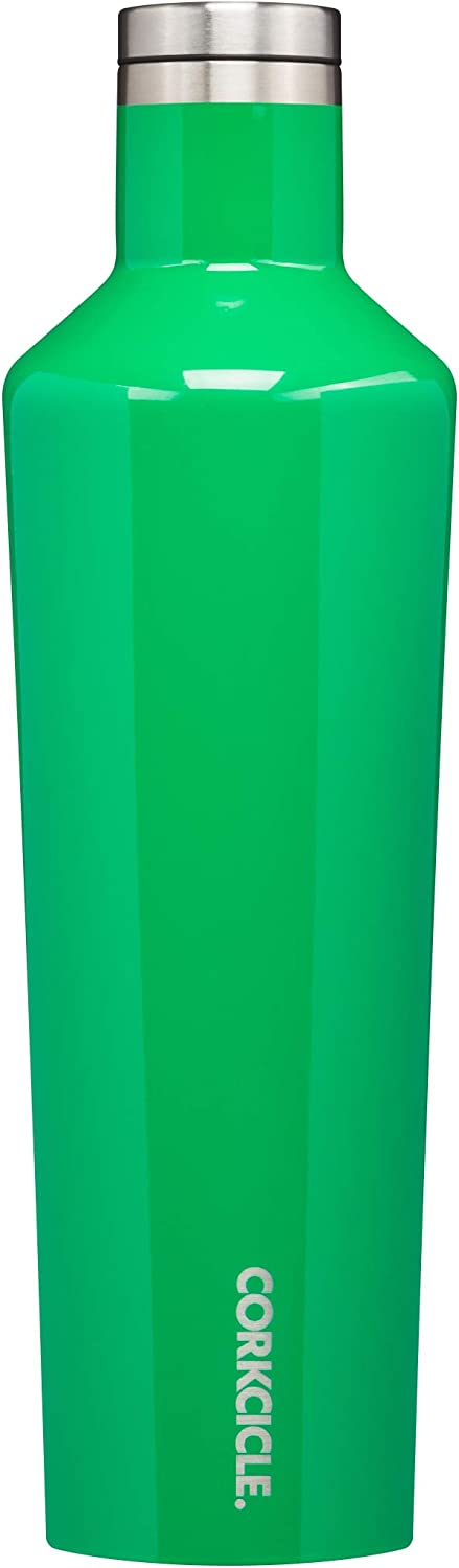 Corkcicle Classic Botella isotérmica, Acero Inoxidable, Gloss Putting Green, 74 cl