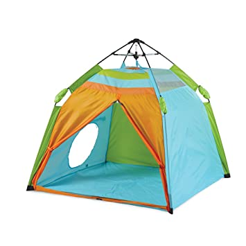 Pacific Play Tents Kids One Touch Beach Tent UV treated - 48u0026quot; x 48u0026quot  sc 1 st  Amazon.com & Amazon.com: Pacific Play Tents Kids One Touch Beach Tent UV ...
