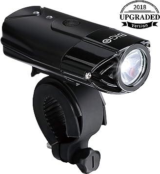 BIGO USB Recargable Luz de Bicicleta luz de La Bici LED ...