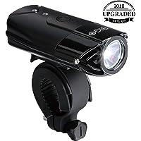 BIGO USB Recargable Luz de Bicicleta luz de La Bici LED Impermeable Linterna Delantera para Bicicletas Multi Modos De Iluminación