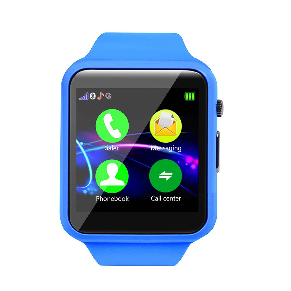 Kid Smart Watch Phone for Girls Boys with GPS Tracker IP67 Waterproof Fitness Watch Best Gift for Children, One Size
