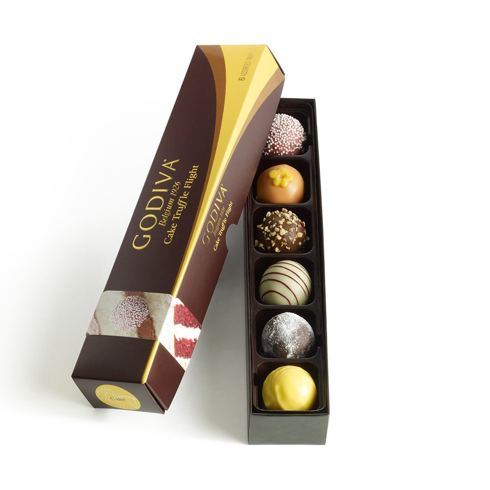 Amazon.com : GODIVA Chocolatier Cake Truffle Flight : Chocolate ...
