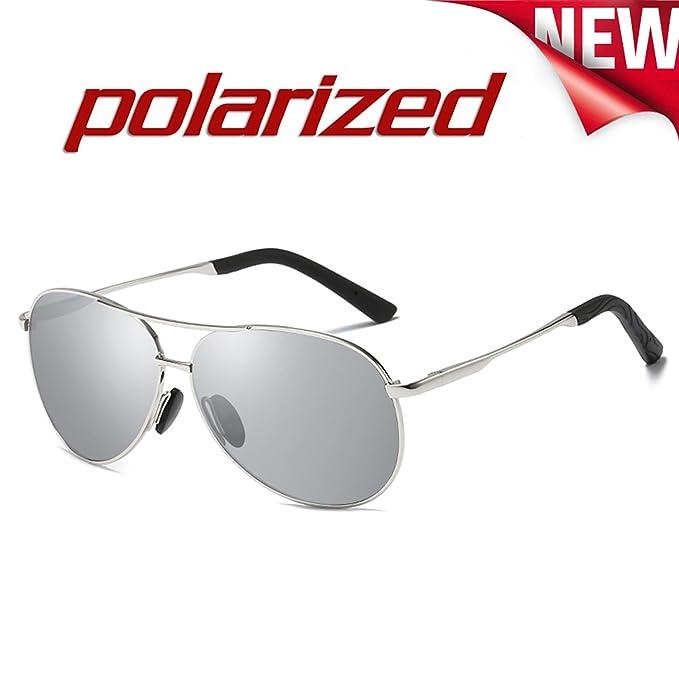 JULI Aviador Polarizado Gafas de sol Hombre Mujer - UV 400 Protection 0971: Amazon.es: Ropa y accesorios