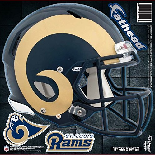 FATHEAD NFL St. Louis Rams Helmet Decal ()