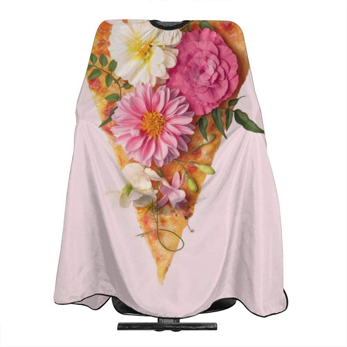 Floral Pizza Haircut Hairdressing Cape Cloth Apron Hair Styling Hairdresser Cape Barber Salon Amazon Co Uk Beauty
