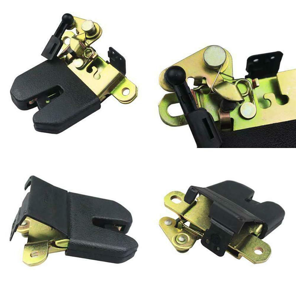 Kunttai Car Rear Trunk Latch Lid Lock Block Actuator Fit for VW Jetta Passat B5 MK4 Bora 4 Polo Replaces # 1J5 827 505D