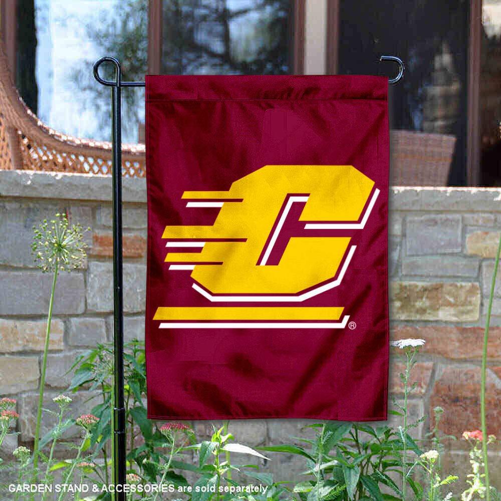 CMU Chippewas Garden Flag and Yard Banner