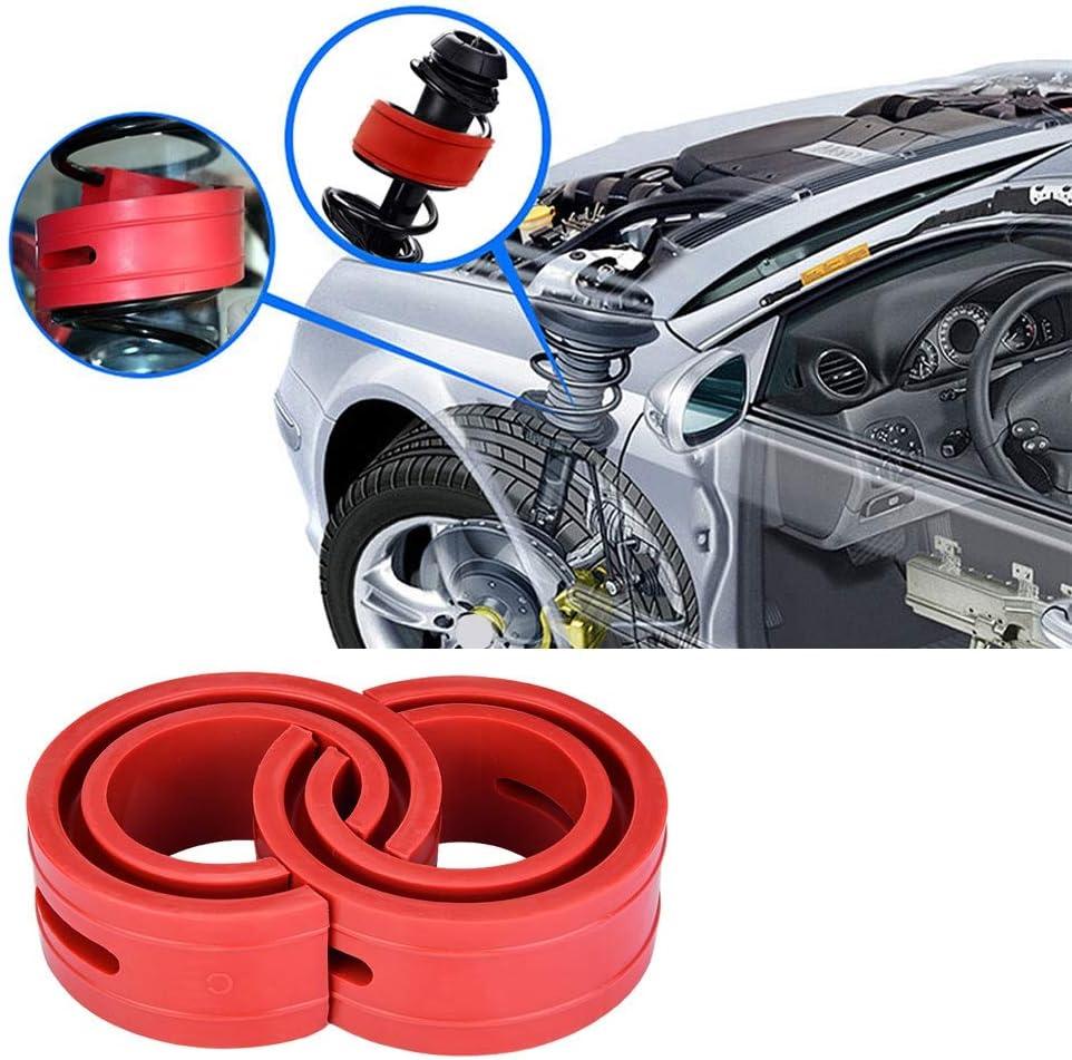 B type rouge de coussin de pare-chocs damortisseur damortisseur damortisseur de voiture 2pc rouge de voiture A-F Amortisseurs damortisseur de ressort de type C de voiture