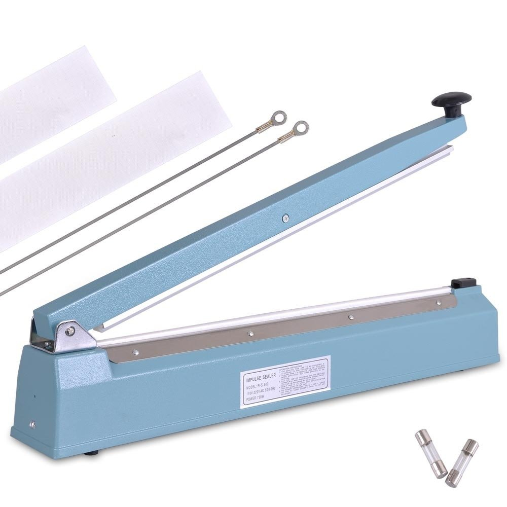 16'' Inch PFS-400 Hand Impulse Sealer with Free 2 Kits of Accessories