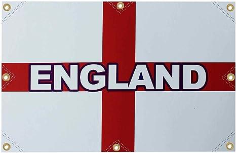 Bandera gigante de Inglaterra de la Copa del Mundo de San Jorge (10 pies x 6 pies) para pubs y casas: Amazon.es: Deportes y aire libre