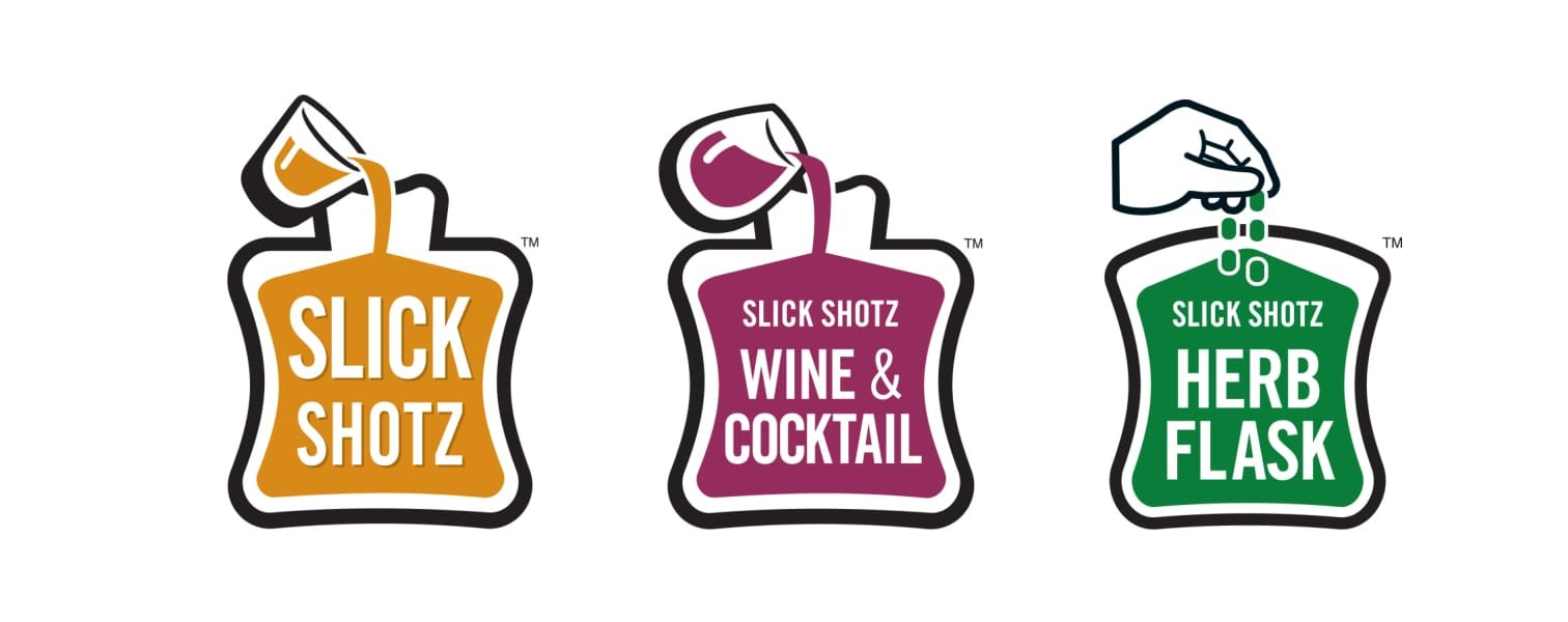 Slick Shotz -100 Flask Refill Pack (Heat Sealer Needed)
