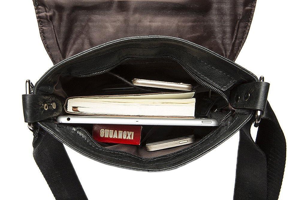 Genda 2Archer Fashion Genuine Leather Leisure Bag Messenger Satchel Shoulder Bag