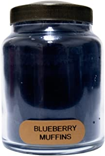 product image for A Cheerful Giver Blueberry Muffins Baby Jar Candle, 6-Ounce, 6oz, Red